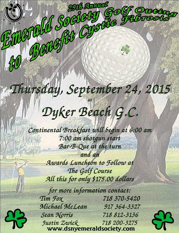 29th Annual Emerald Society Charity Golf Outing @ Dyker Beach Golf Course | New York | United States