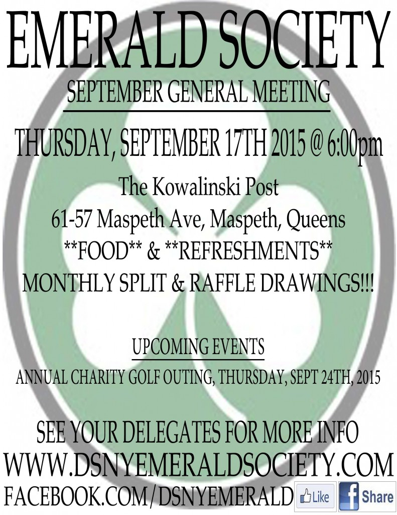 September Meeting 2012
