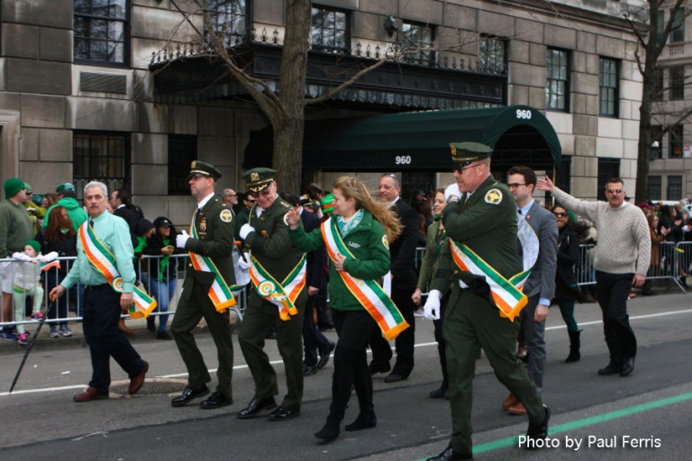 NYC 5th Ave. St. Patrick's Day Parade